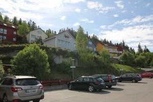 Øvre felt  og gjesteparkering